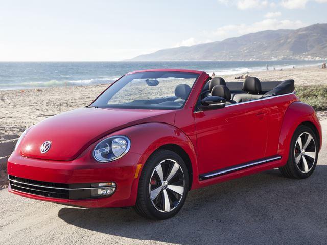На парашюте прямиком в VW Beetle Cabrio