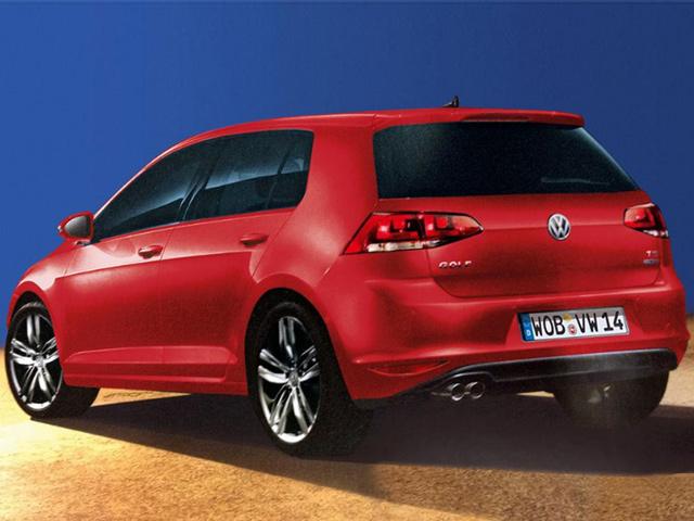 VW Golf 2013 года – утечка информации