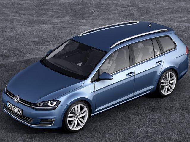 Изображения нового VW Golf Variant появились в сети
