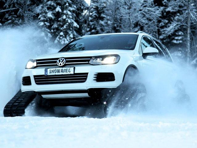 VW построил Snowareg