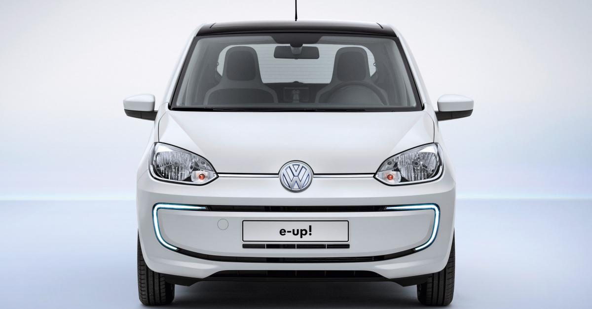 VW представил обновленный  e-Up 2013