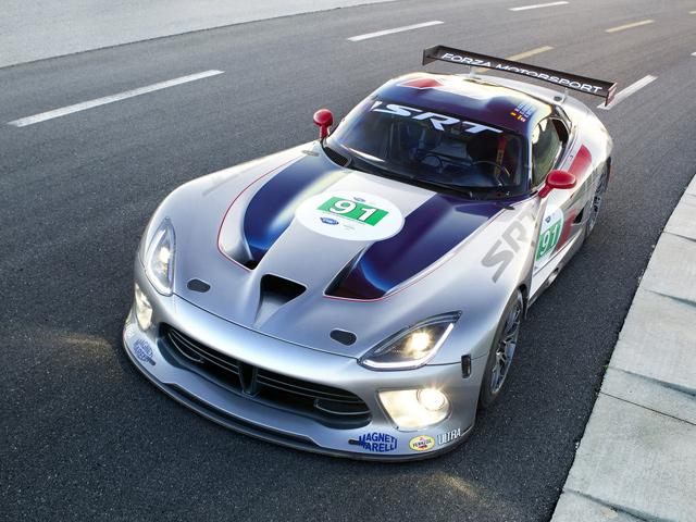 SRT подготовил гоночный Viper GTS-R