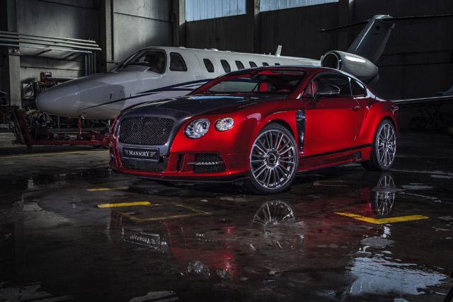 Тюнинг Bentley Continental GT от Mansory