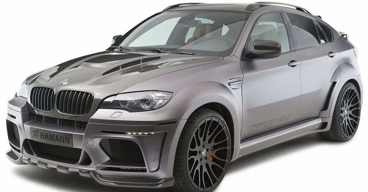 HAMANN тюнинг TYCOON EVO M для BMW X6 M