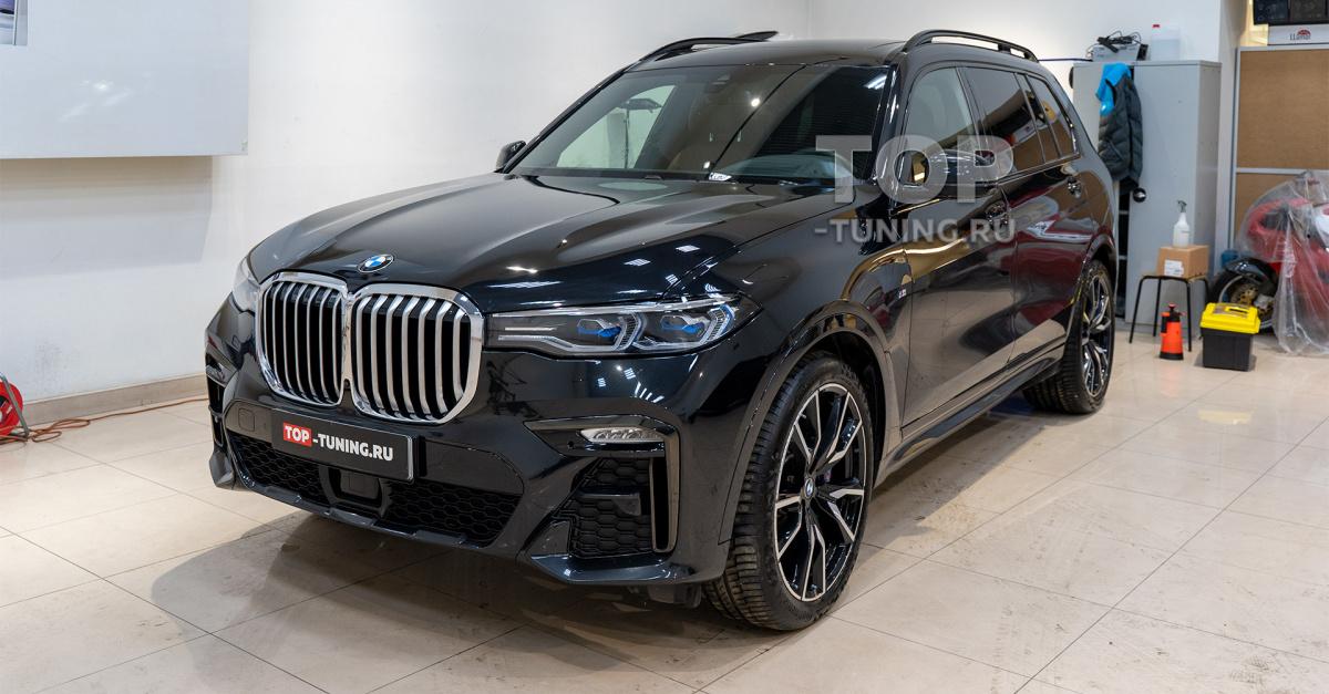 105980 Как выглядит новый BMW X7 через 17 тыс. км. без защиты пленкой
