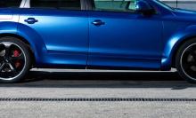 1205 Накладки на двери - обвес PP1 ICE на Audi Q7