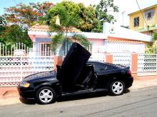 1445 Ламбо двери ULD Bolt ON на Hyundai Tiburon Coupe GK
