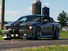Накладки на задние крылья Mustang Eleanor - пара.