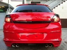 Накладка на задний бампер - Модель Rieger - Nюнинг Opel Astra H GTC