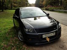 Юбка переднего бампера - Модель Steinmetz - Тюнинг Opel Astra H GTC