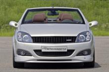 708 Накладка на передний бампер Steinmetz на Opel Astra H GTC