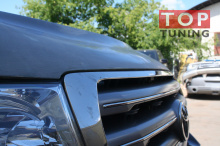 1567 Капот с жабрами Blast на Toyota Land Cruiser 200