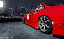 626 Задний бампер - Обвес Origin Aggressive на Nissan Silvia S14