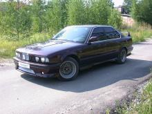 864 Реснички Wolf на BMW 5 E34