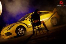 Элерон переднего бампера Gallardo на Toyota Celica T23