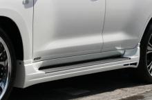 Обвес Luv-Line для Тойота Ленд Крузер 200 является одним из выдающихся комплектов.