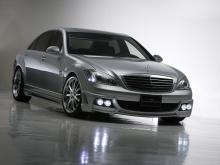 Флагманский седан от Mercedes Benz сбалансированный и законченный автомобиль, но и его можно украсить отличный комплектом тюнинга от Wald.