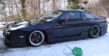 634 Крылья передние + 40 мм. D-Max D1 на Nissan Silvia S13-180SX-200SX-240SX