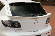 1085 Нижний спойлер Inspection на Mazda 3 BK