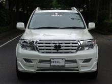 Тюнинг Toyota Land Cruiser 200 (дорестайлинг) - Юбка переднего бампера BRANEW.