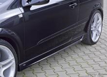 Накладки на пороги - тюнинг. Штейнметц на Opel Astra H GTC