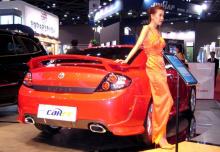Накладки на задний бампер Tomato Настоящий подарок для владельцев автомобилей Hyundai Coupe - Tiburon!