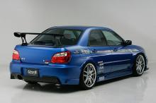 Обвес Ings +1 на Subaru Impreza WRX GD, GG 1