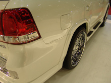 Тюнинг Toyota Land Cruiser 200 (дорестайлинг) - Комплект обвеса BRANEW.