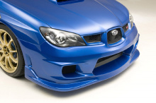 Обвес ings+1 на Subaru Impreza WRX STI в кузове лиса.