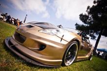 Обвес Wide Body - передний бампер K1 на Toyota Celica T23