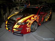 Передний бампер - Обвес Авто-Р для Хонда Аккорд 7.
