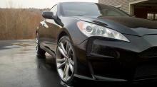 Тюнинг обвес Vega на Hyundai Genesis Coupe.