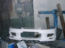 Передний бампер - Обвес на Nissan Silvia S15 Bomex.