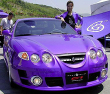 Передний бампер - Обвес Cuda Rally на Hyundai Tiburon RD2