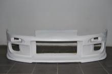 Стеклопластиковый передний бампер из комплекта Триал (Trial), аэродинамический обвес для Тойота Супра 80