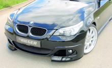 Передний бампер - Обвес Rieger, реинкарнация М-пакета с выраженной спортивной ноткой.