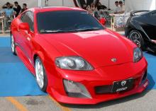 Передний бампер - Обвес Warrior - Тюнинг Hyundai Tiburon (Coupe) GK