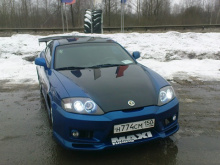 Передний бампер из комплекта обвеса Зефиро Ронда, тюнинг Hyundai Tiburon / Coupe / Tuscani