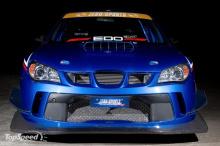 Передний бампер -Обвес Zero Sport на Subaru Impreza WRX STi (GD8).
