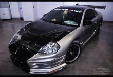 Передний бампер - Обвес Torque (Торк) для Mitsubishi Eclipse G3 (кузов D30).