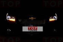 Самый изящный и красивый вариант альтернативной оптики на Chevrolet Cruze.