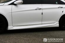 Тюнинг пороги на Hyundai Sonata YF