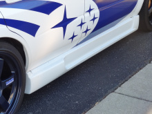 Пороги Ings +1 - Тюнинг Subaru Impreza WRX
