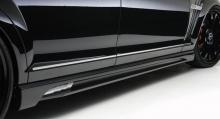 Тюнинг Мерседес W221 - Комплект порогов WALD Black Bison.