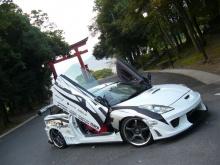 Пороги - Weber Sport на Toyota Celica.