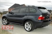 Пороги - пара, обвес Aero, тюнинг BMW X5 E53