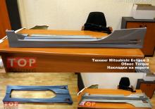 Пороги - Обвес Torque (Торк) для Mitsubishi Eclipse G3 (кузов D30).