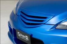 1084 Решетка радиатора без значка Ings+1 на Mazda 3 BK