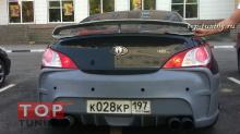 Спойлер GT-R Универсальный Top-Tuning V-Spec на Hyundai Genesis Coupe