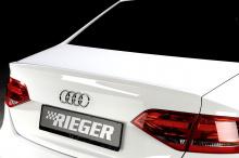 Лезвие- спойлер на крышку багажника - Ригер. Тюнинг Ауди А4 (Б8)